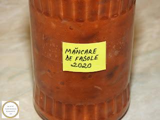Mancare de fasole la borcan pentru iarna reteta de casa de post retete culinare iahnie mancaruri cu legume conserve,