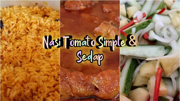 Resepi Nasi Tomato Mudah