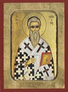 Resultado de imagem para São Cipriano, Bispo de Cartago