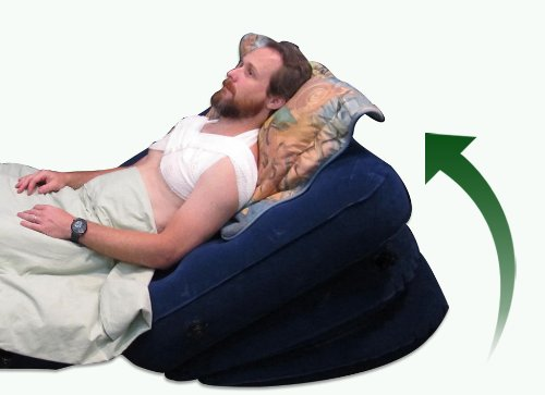 Wedge Pillow For Acid Reflux Inflatable Bed Wedge For