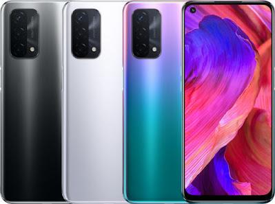 Pilihan warna oppo A93 5G