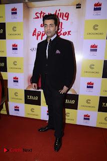 Sonakshi Sinha Karan Johar at Aishwarya Rajinikanth Standing on an Apple Box Book Launch Event  0043.jpg