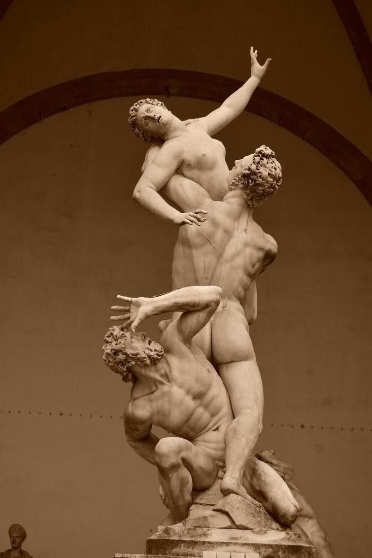 Enlèvement des Sabines, Giambologna