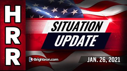 Situation Update, Jan 26th, 2021 - Trump Prepares Parallel Presidency As Biden Agenda Blockaded! - Mike Adams Must Video