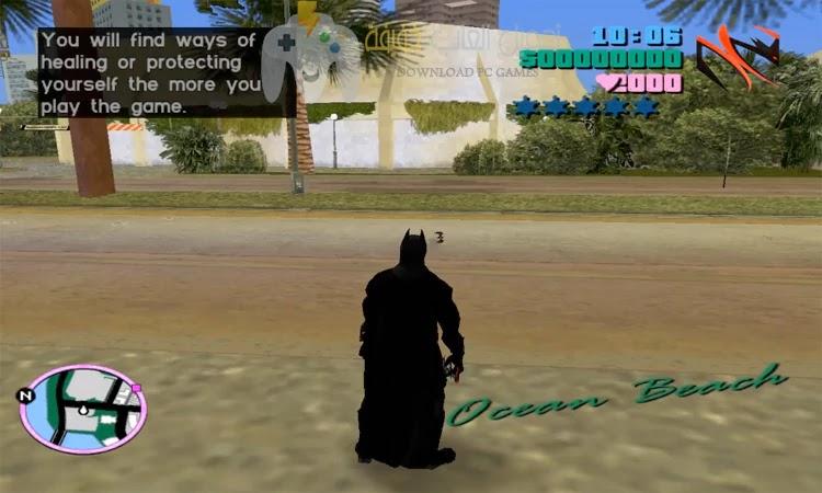 تحميل لعبة GTA Vice City Batman للكمبيوتر