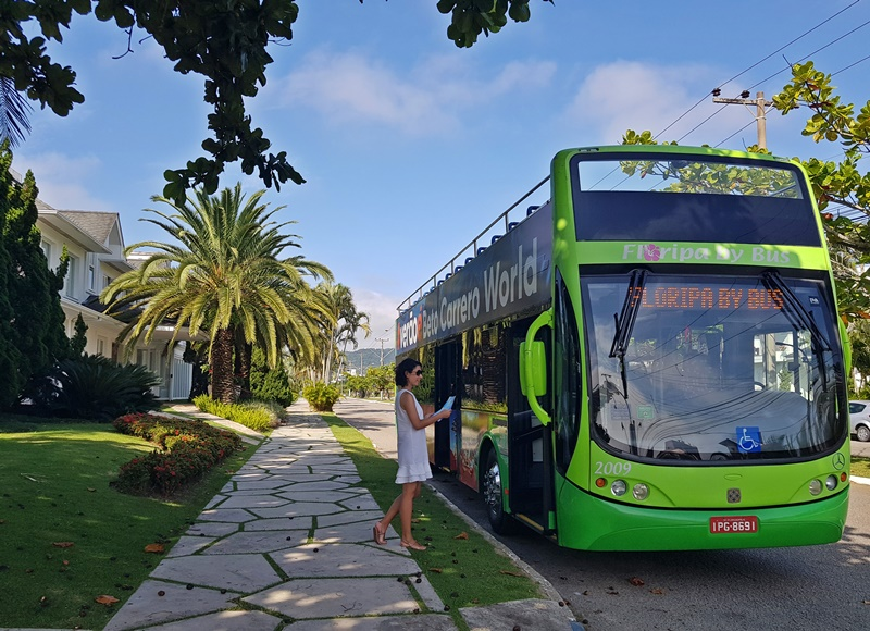 Floripa By Bus, tudo sobre ônibus turístico de Florianópolis