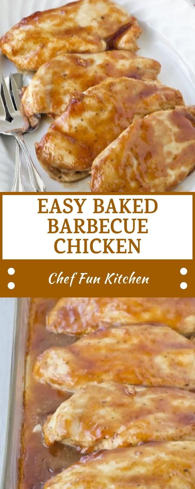 EASY BAKED BARBECUE CHICKEN