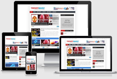 Trendy Magz - Template SEO Friendly Responsive Terbaru