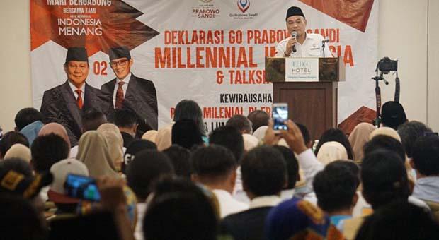 Survei Internal, Elektabilitas Prabowo-Sandiaga di Atas 60 Persen