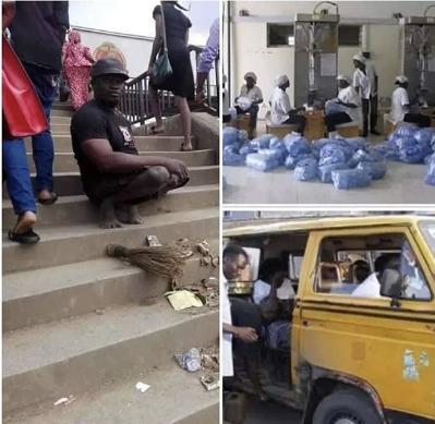 Meet The Richest Beggar Who Has 4 Wives, 5 Houses, Sachet Water Business, Others (Photo)