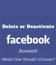 Facebook, Activate Facebook, Deactivate Facebook, FB, Social Media
