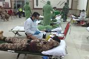 Peringati Hari Juang TNI AD, Kodim 1016/Plk Penuhi Stok Kebutuhan Darah