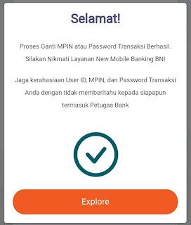 Cerita Pengalaman Cara Mengatasi Password Transaksi M-Banking BNI Terblokir