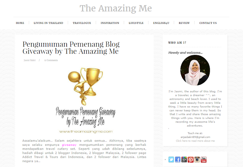 Full Edit Blog Untuk Jasmi