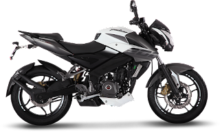 Bajaj Pulsar 200NS White Color