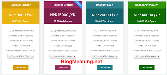 Start a blog in Nepal-reseller