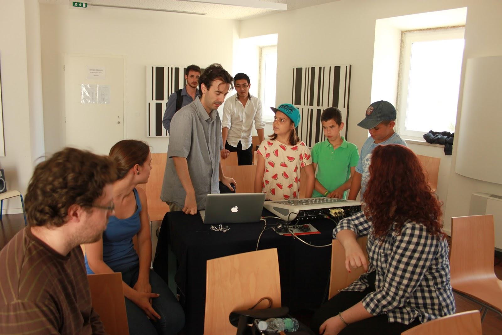 379f3c5756 Workshop de Espacialização - Escola das Artes do Alentejo Litoral (Sines)