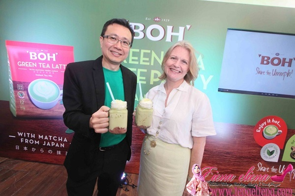 BOH Green Tea Latte Party 2017