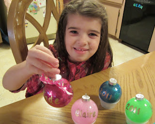 #NUO2012 @lisastuf Glitter Filled Ornaments