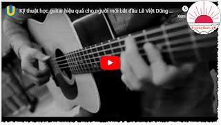 Kỹ năng học guitar hiệu quả cho người mới bắt đầu Download miễn phí