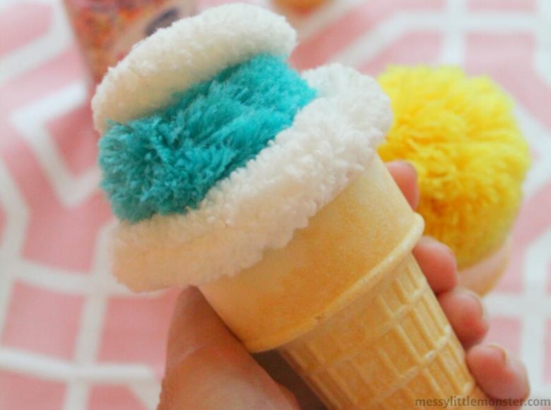 Ice cream pretend play ideas