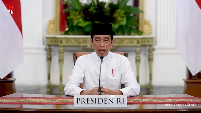 Presiden RI; Mematuhi Prokes Cermin Semangat Hijrah Umat Islam