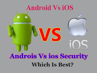 Android or iOS Security Which Is More Secure iOS or Android Which Is Best