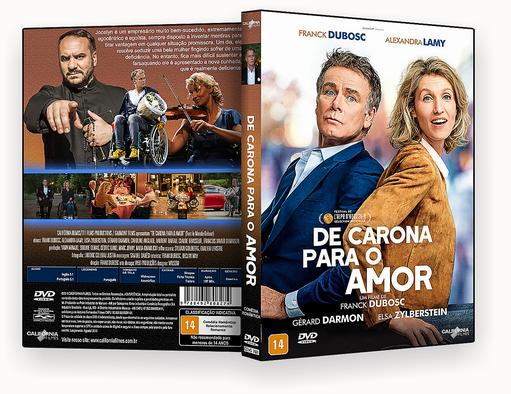 CAPA DVD – De Carona Para O Amor DVD-R
