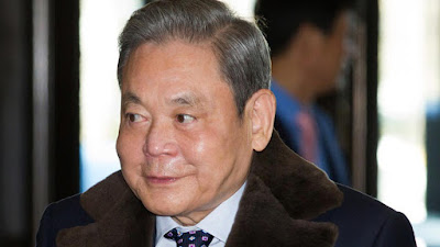 Chairman Samsung Lee Kun-hee Meninggal Dunia