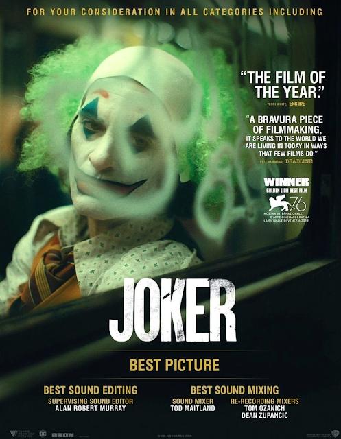 Coringa 2019 Oscar Poster 02