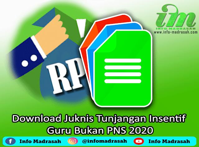 Download Juknis Tunjangan Insentif Guru Bukan PNS 2020