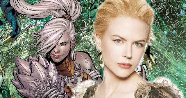 Nicole Kidman será la reina Atlanna en Aquaman