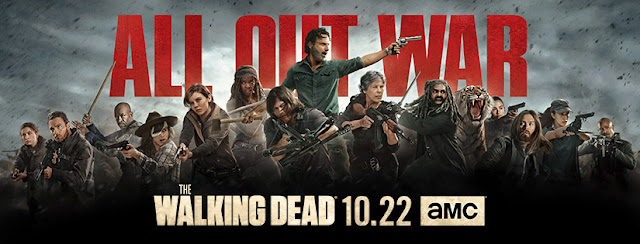 The Walking Dead [banner AMC - Stagione 8]