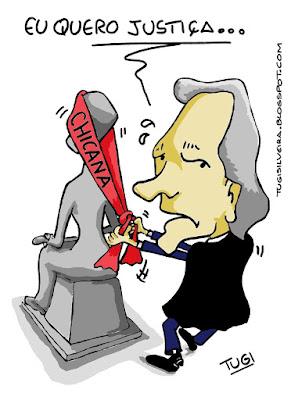 """Resumindo a bagaça: """"Rasgaram a Constituição e pisaram na Carta Magna"""""""