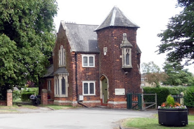 Cemetery Lodge - one of Brigg's most distinctive properties - pictured on Nigel Fisher's Brigg Blog in 2018