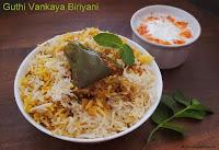 images of Guthi Vankaya Biriyani