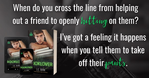 When do you cross the line from helping out a friend to openly hitting on them? I've got a feeling it happens when you tell them to take off their pants.