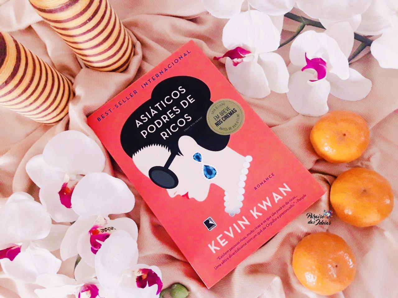 [Resenha] Asiáticos podres de ricos #1 - Kevin Kwan