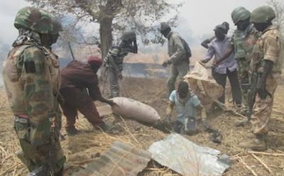 boko haram bomb factory destroyed