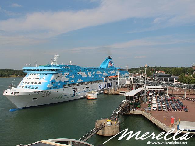 Ahvenanmaalle laivalla kesällä 2020