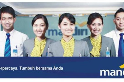Lowongan Kerja Riau : PT. Bank Mandiri (Persero) Tbk Juni 2017