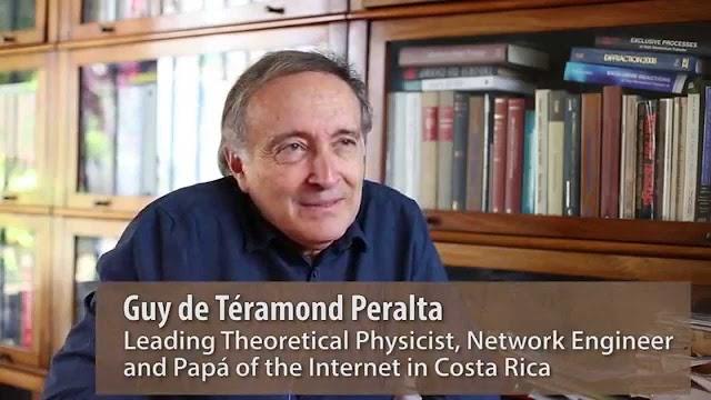 El padre del Internet en Costa Rica: Guy de Téramond Peralta