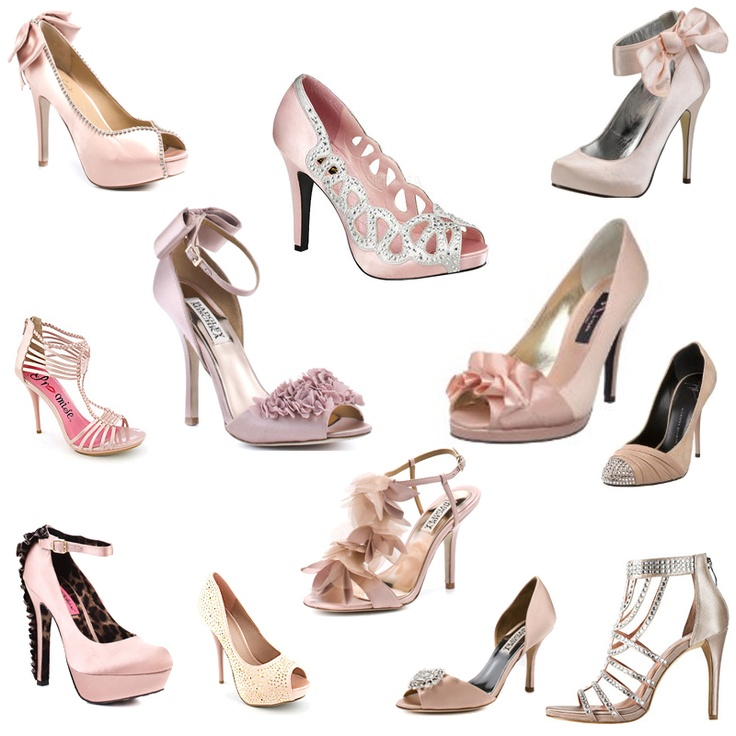 66f3df80101f The Blush Chance of Bridal Shoes Brides