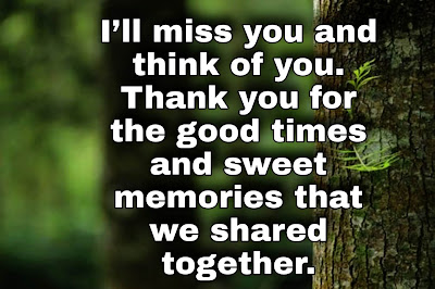 Messages on Farewell