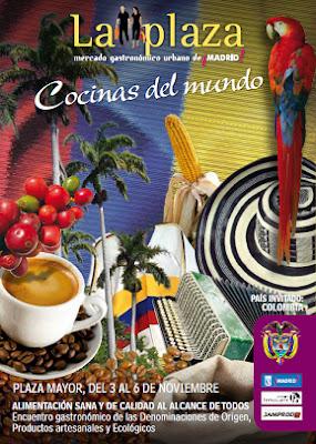 """Las """"Cocinas del Mundo"""" en la Plaza Mayor de Madrid"""