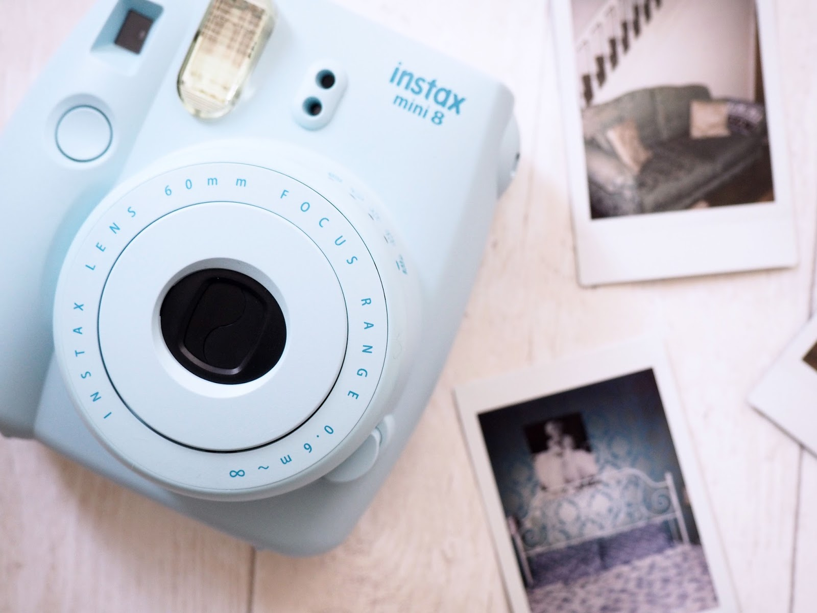 Instax Blue Polaroid Camera