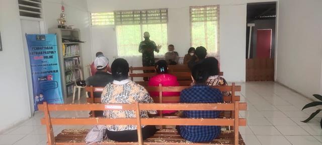 Rapat Mediasi Tentang Permasalahan Lahan Tanah Turut Serta Dihadiri Personel Jajaran Kodim 0207/Simalungun