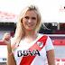 Ale Maglietti volvió a mostrar su amor por River Plate