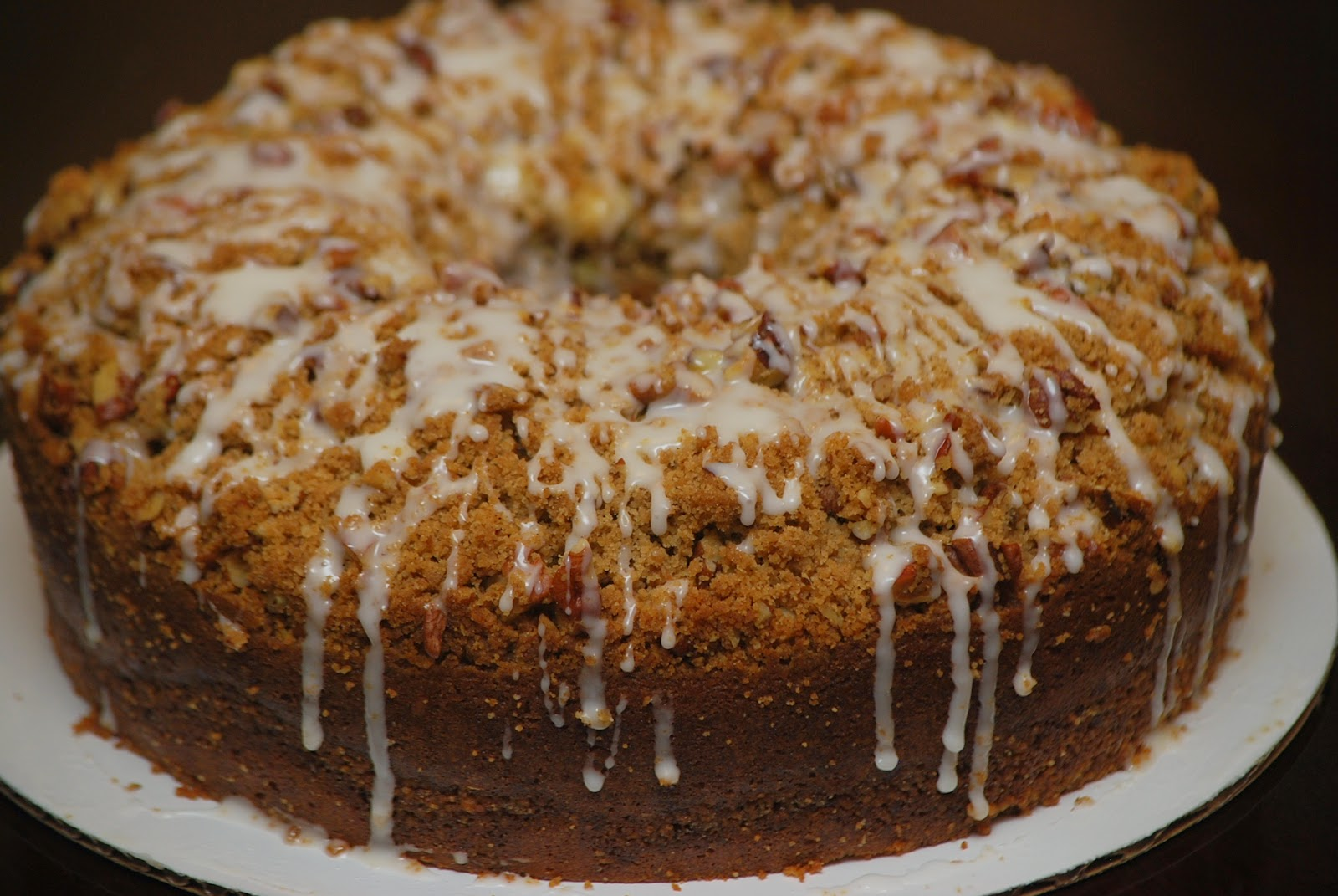 Cinnamon Streusel Pound Cake Recipe