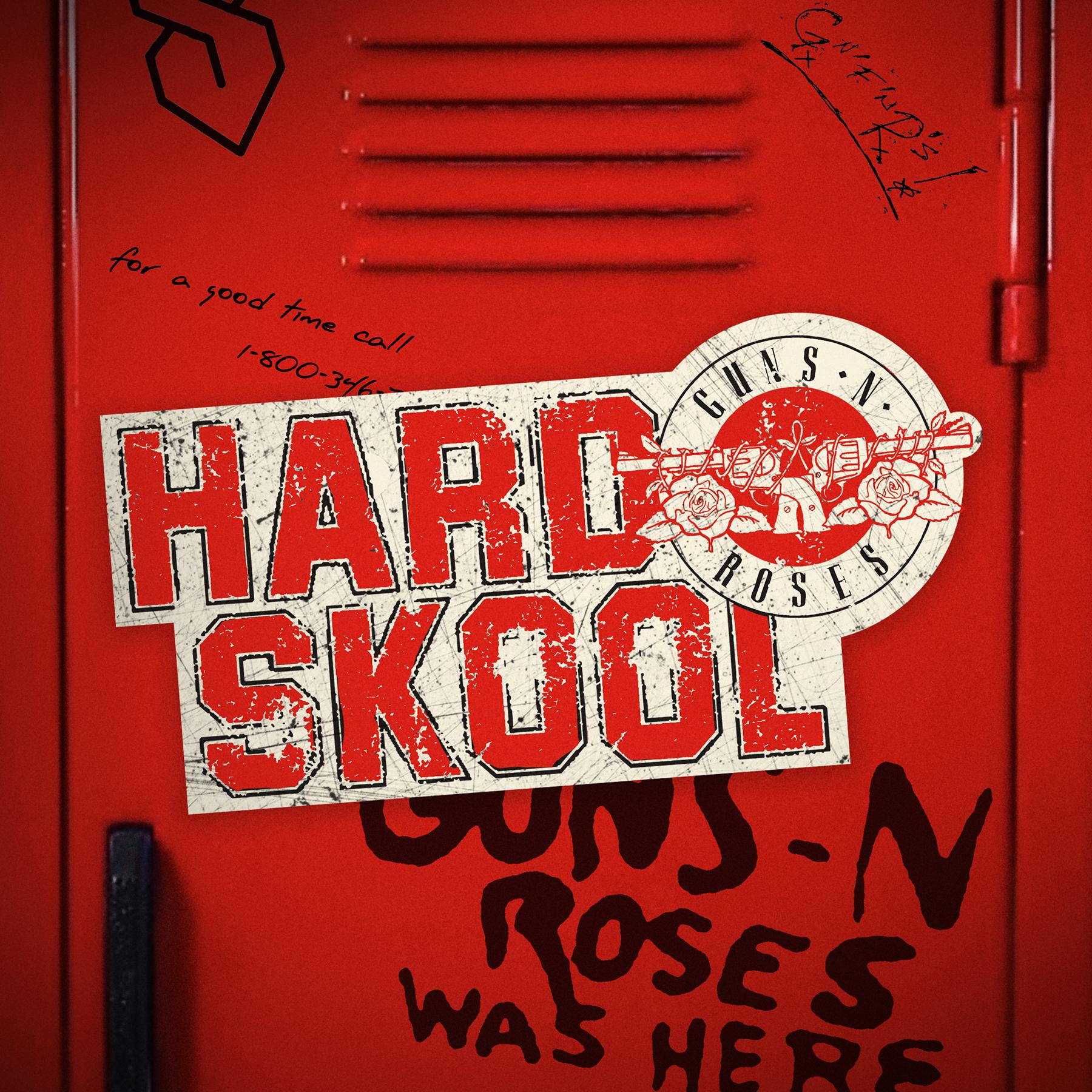 """Guns N' Roses lansează melodia """"Hard Skool"""""""